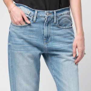 FRAME Oversized High Rise Jeans - Size 27